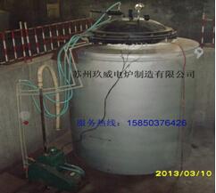 矽钢片井式发黑炉
